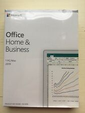 Microsoft Office Home and Business 2019 for PC/MAC - New Unused Genuine Key