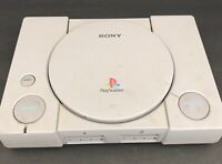 Sony PlayStation PS1 Console SCPH-7501 - For Parts Or Repair - Powers On