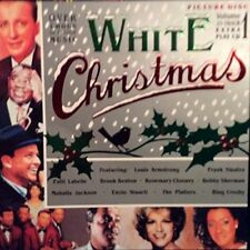 WHITE Christmas (picturedisc) 1: Bing Crosby, Brook Benton, Louis armst [CD ALBUM]