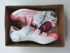 Sidi Genius 7 Women's Road Shoe NEW IN BOX Size US 10/EU 42.5 White/Pink Fluo
