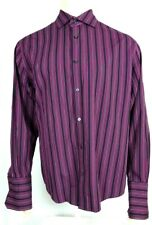 CEZANI  Men's Long Sleeved Button Down Shirt     Size L      Great Condition!!