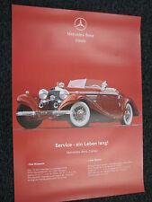 Poster Mercedes-Benz Classic Service - Ein Leben Lang! (JS)