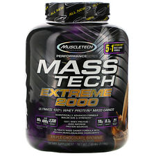 Muscletech  Mass Tech Extreme 2000  Triple Chocolate Brownie  7 00 lb  3 18 kg