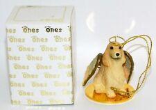 "English Cocker Spaniel Dog Figurine Ornament Angel 2"" Figure Tiny Ones Blonde"