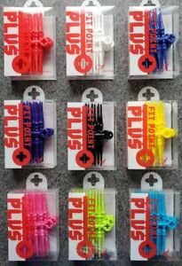 Cosmo Fit Point Plus -Premium- Soft Tip Dart Points - 50 count - 9 Colors