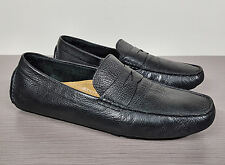 Cole Haan 'Howland' Penny Loafer Black Textured Leather Mens Size 11.5 M