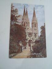 Old Postcard St Finbars Cathedral, Cork Franked & Stamped 1906  §A1056