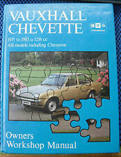 Vauxhall Chevette Owners Workshop Manual