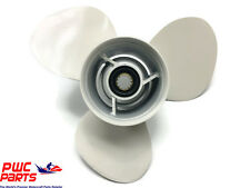 "YAMAHA OEM Outboard Propeller 6H5-45945-00-00 Aluminum 10-3/8"" Diameter 13 Pitch"