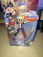 "NEW-Harley Quinn 6"" Inch Action Figure Doll - Mattel DC Super Hero Girls"