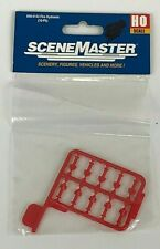 Walthers SceneMaster HO Scale 949-4143 Fire Hydrants 10 Pack NEW SEALED