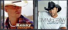The Road and the Radio by Kenny Chesney (CD) & Southern Voice by Tim McGraw (CD)