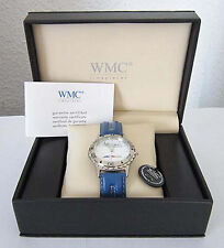WMC 8915 Armbanduhr Reklame Werbegeschenk Malerwerstatt Hübsch Esslingen OVP Box