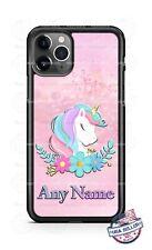 Sleeping Cute Unicorn Castle Custom Phone Case For iPhone Samsung S20 LG Google
