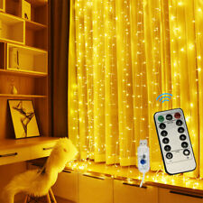 Christmas Warn Lights 3M 300LED Decoration LED Curtain String Fairy Light+Remote