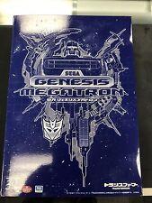 "SEGA GENESIS MEGATRON - Transformers 7.5"" Limited Action Figure (Takara Tomy)"