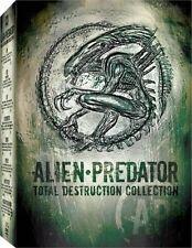 Alien - Predator: Total Destruction Collection [DVD Box Set Movie, 8-Disc] NEW