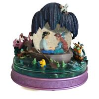 VTG Disney The Little Mermaid Musical Snow Globe Eric Arial Kiss the Girl Scene