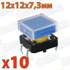 Pulsador PCB tipo B3F 12mm 4 pines SPST NO - PERSONALIZABLE - Lote 10 unidades -