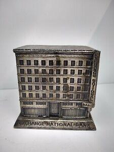 Banthrico Cast Iron Bank Building Colorado Springs Exchange National Bank 1930's