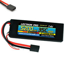 Lectron Pro 2S 7.4V 5200mAh 35C LiPo Battery w/ Traxxas Connector