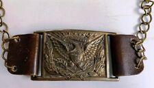 New listing Civil War ? Era/Style ~ Brass Eagle relief ~ Sword / Belt Buckle/Plate