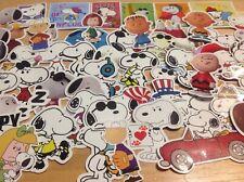 Snoopy Set Of 5 Vinyl Window/Laptop Stickers