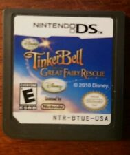 TINKERBELL:  GREAT FAIRY RESCUE NINTENDO DS CARTRIDGE ONLY 100% GUARANTEED