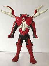 """Vintage Beetleborgs Unctuous 6"""" Figure Bandai 1996 Claw Lobster Crab Pinch AS IS"""