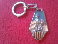 ANTIGUO LLAVERO KEYRING PORTE-CLÉS KEYCHAIN AX LES THERMES FRANCIA FRANCE CERF ?