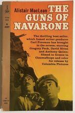 THE GUNS OF NAVARONE by Alistair MacLean (1961) Permabook movie pb