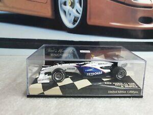 MINICHAMPS /F1 - BMW SAUBER SHOWCAR - N HEIDFELD - 1/43 SCALE MODEL - 400 090076