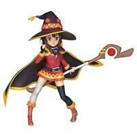 KonoSuba Megumin Anime Figure Witch Outfit PVC Statue Sega Statue