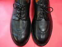 MADE IN FRANCE Men's Shoes MEPHISTO Split Toe Oxford Sz 12 NARROW Black Leather