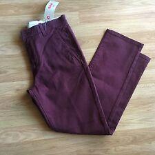 Women's Levi's 30x30 Maroon Jeans. Straight Legs.4pockets.Msrp $58