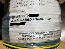 Crestron Cresnet-P-TL Composite Touch Panel/Media Control Cable CMP Teal /50ft