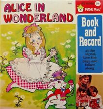 ALICE IN WONDERLAND 1943 Peter Pan Read Along Book & Record Set New Mint SEALED