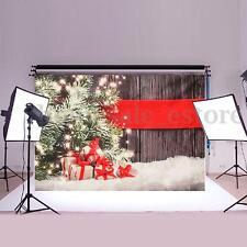 7x5ft Merry Christmas Photography Backdrop Cloth Studio Photo Prop Backdrop