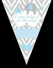 Elephant Banner, Banner, Elephants, Baby Shower