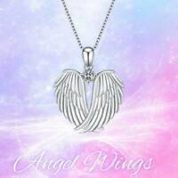 Exquisite Mode Halskette Anhänger Angel Wings Halskette Frauen Schmuck Re