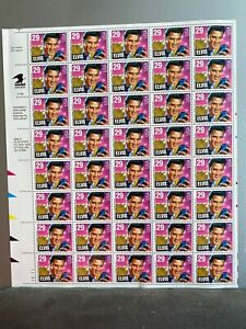1993 Elvis Presley Stamp Mint Sheet 40 29 cent W/ FIrst Day Cover🤓LAST ONE