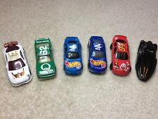 6 McDonald's Happy Meal Hot Wheel Toy Cars Loose lot #1 of 3