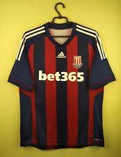 Stoke city jersey Large t shirt 2012/2013 Away official adidas football soccer