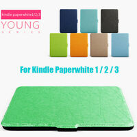Cover Smart Case Protective Shell E-reader For Amazon Kindle Paperwhite 1/2/3