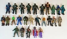 "Mixed Lot of 26 Action Figures mostly Military 4.75"" 3.75"" Preowned The Corps"