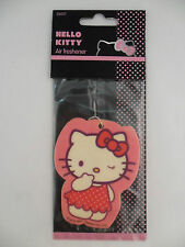 CAR AIR FRESHNER AIR FRESHENER PINK HELLO KITTY NOVELTY JAPANESE CARTOON GIFT