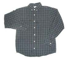 Gymboree Pirates Adventure Plaid Casual Dress Shirt 10