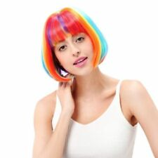 Rainbow Bangs Wigs & Hairpieces