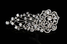SWARVOSKI Crystal bridal head piece , crystal hair comb , rhinestone head piece