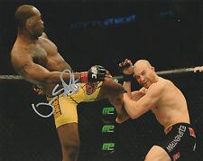 OVINCE SAINT PREUX SIGNED AUTO'D 8X10 PHOTO UFC 197 FIGHT NIGHT STRIKEFORCE C